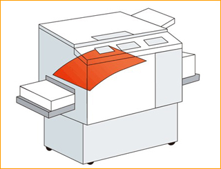 高速复印机着墨用