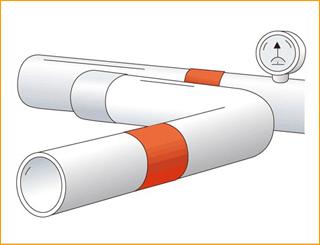 金属塑料管道保暖加热用